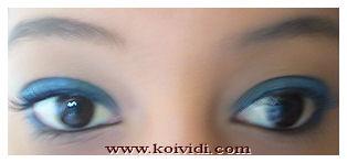 le yeux du modèle