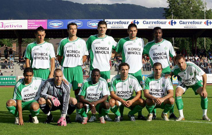 équipe football as saint etienne