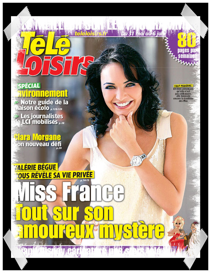 miss france 2008 la une tele loisir