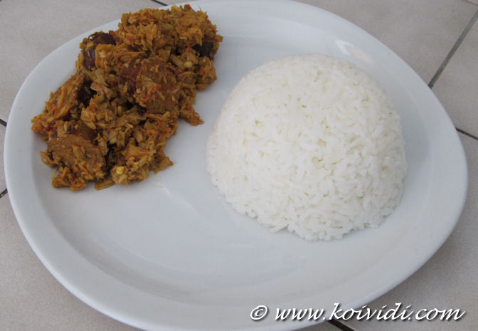 assiette riz et ti jacque saucisses