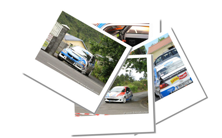 Photos de voitures rallye
