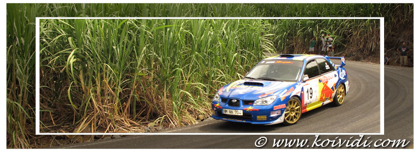 Photo de la Subaru Impreza WRX de Johnny Picard