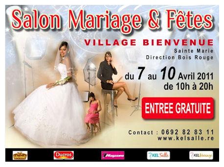 photo de l'affiche du salon mariage et fêtes