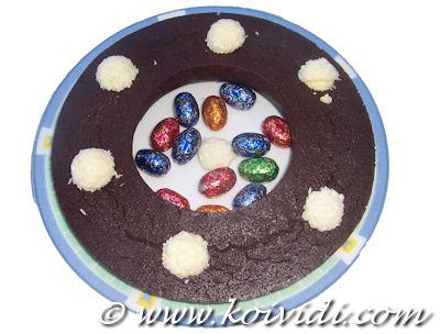 Photo du fondant au chocolat