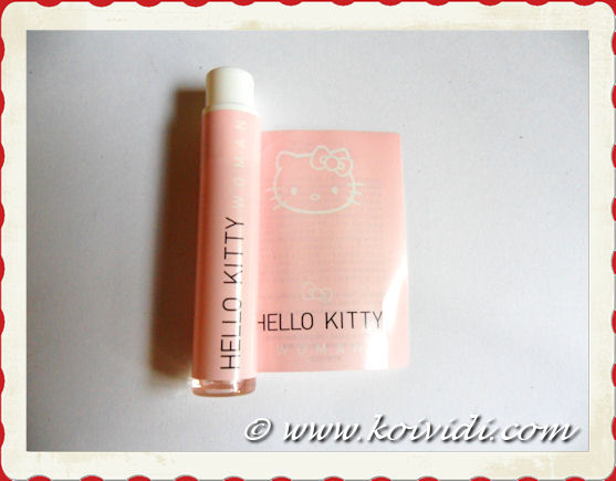 photo du parfum hello Kitty