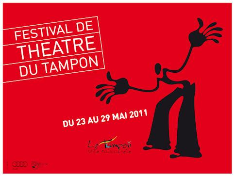 Affiche festival théâtre du Tampon