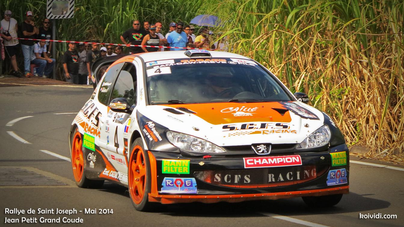 Sam Caw Freve Stéphane et Teyssedre Margaux 206 WRC