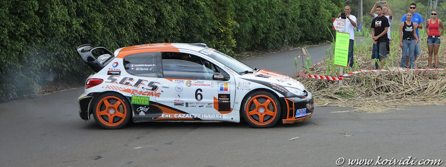 Rallye national de Bourbon : 14, 15 et 16 novembre 2014