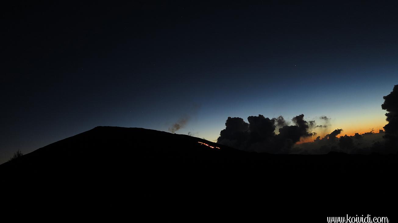 Eruption  de février 2015 la Réunion