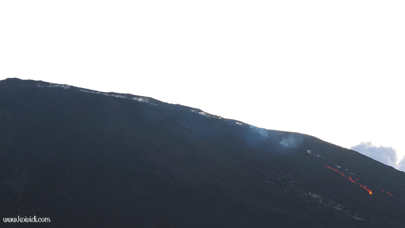 Volcan, la réunion