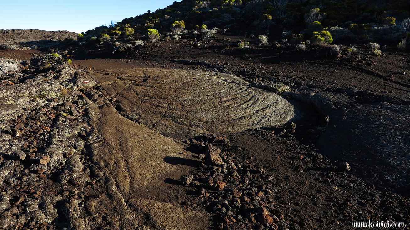 Sur le GR R2, volcan
