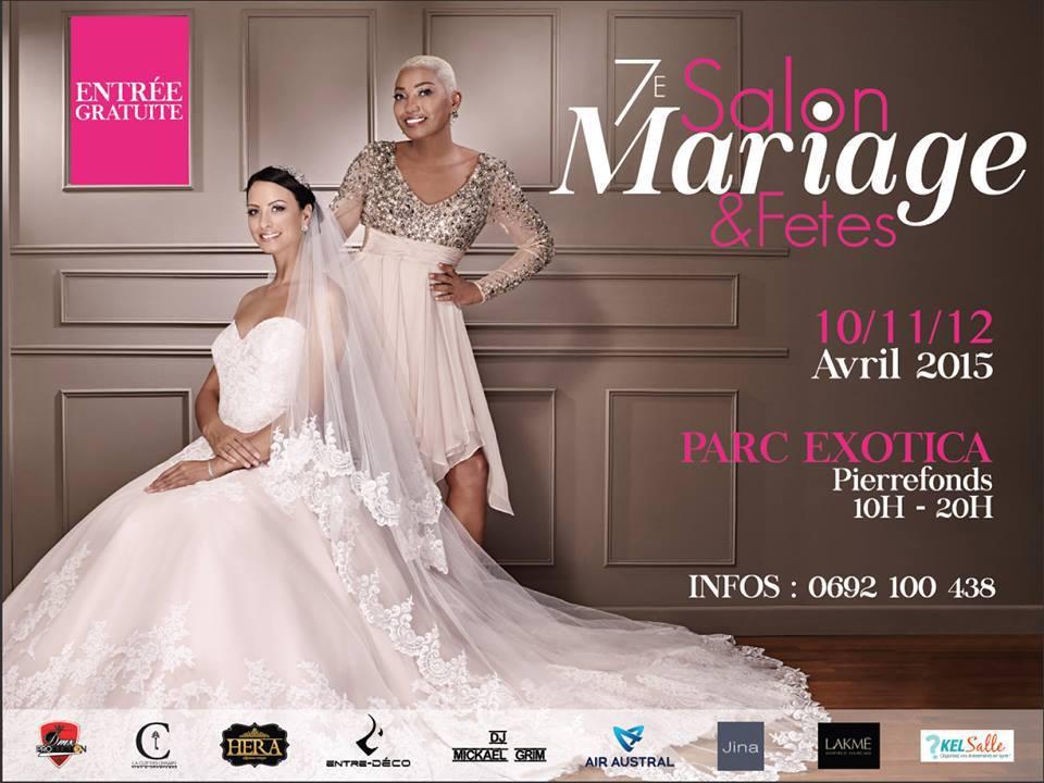affiche salon mariage et fêtes
