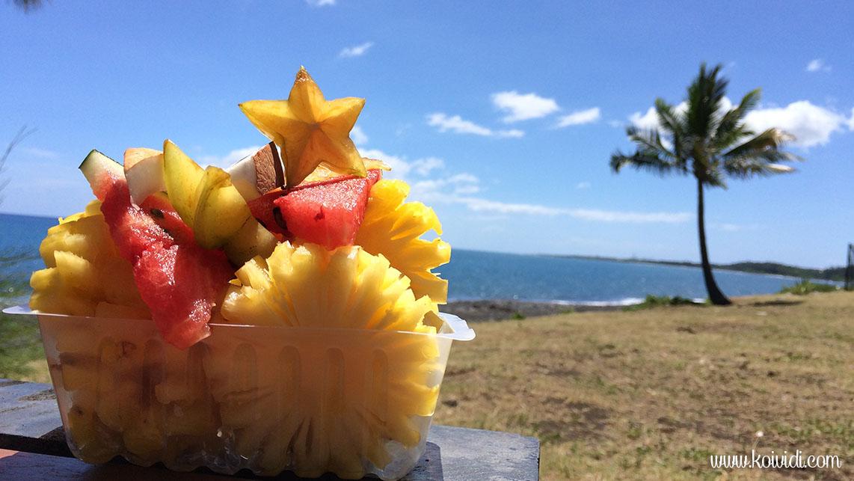 barquette de fruits