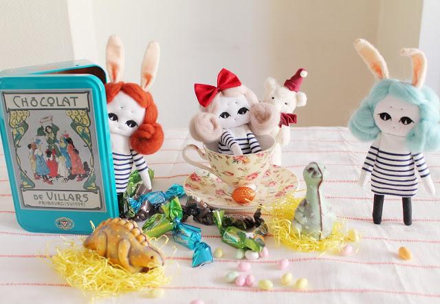 création poupée artisanale