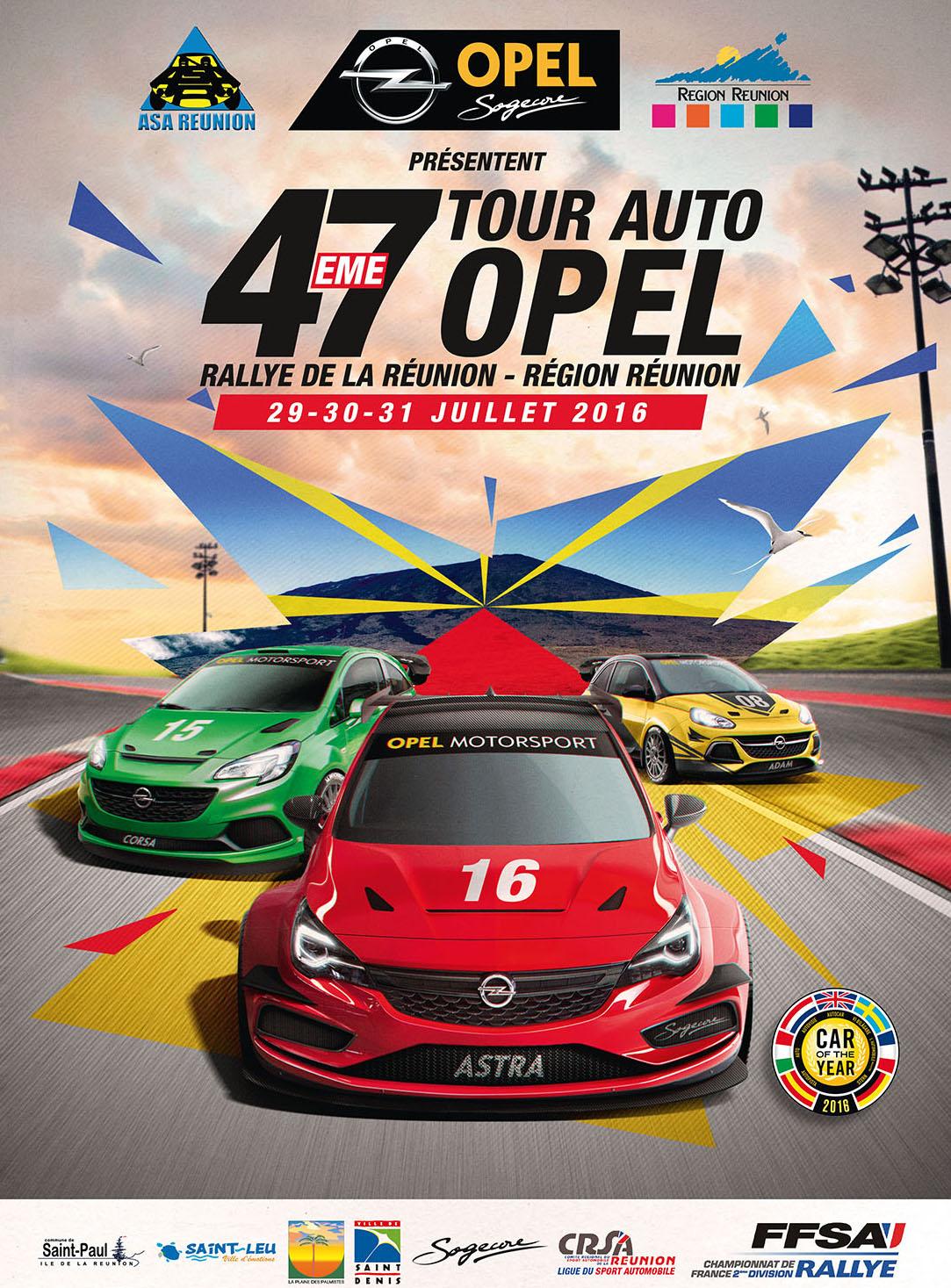 affiche-Tour Auto Opel